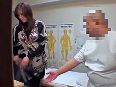 Japanese Fingered To Orgasm In Voyeur Massage Video