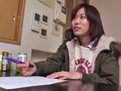 Amateur Asian Teen Fucked Over Washing Machine
