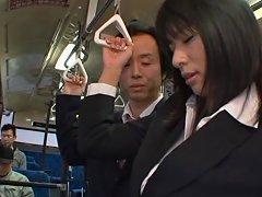 Hana Haruna Is A Hot Asian MILF Fucking In Public