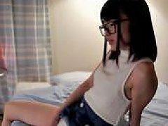 Tiny Asian Teen Cummed