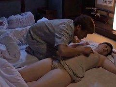 Japanese Wife Kaori Sakuragi Lets Her Man Eat Her Pussy