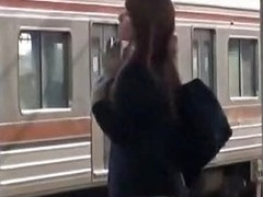 Crazy Japanese Slut Natsu Aoi Hikaru Yuki Yuu Shinoda In Incredible Public Lesbian Jav Clip