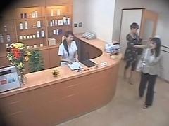 Two Cute Asians Screwed Hard In Voyeur Massage Video