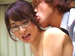 Gled Japanese  With A Hot Booty Gets Naught In The Office